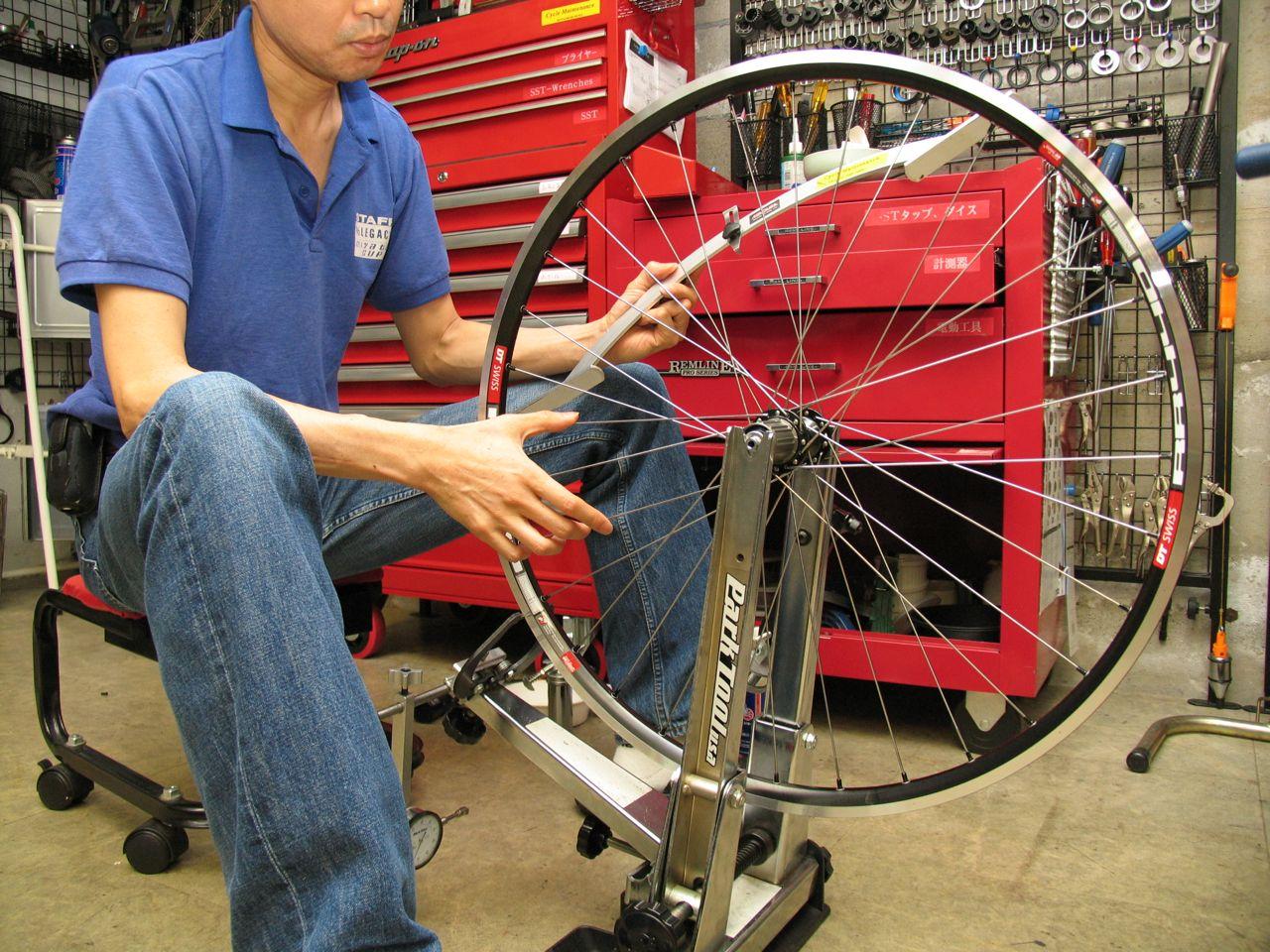 自転車の リム 自転車 : DT RR4400非対称リム&シマノ11s ...